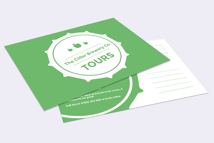 A5 Double Sided Postcard
