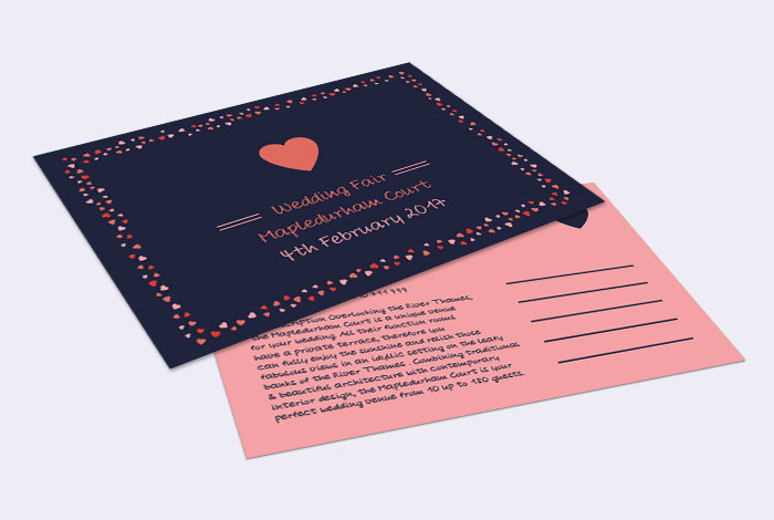 A6 Double Sided Postcard