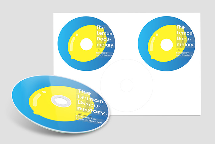DVD Label Gloss
