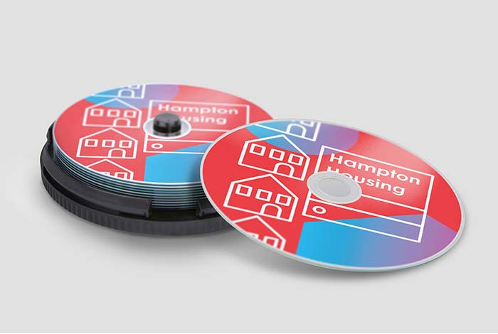Printed Recordable CD