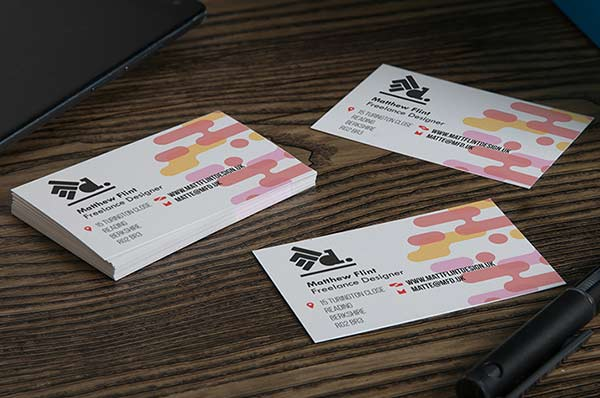 Business cards for graphic designers avery weprint weprint business cards are a great way to showcase your visual style and communicate what kind of designer you are in a concise eye catching format colourmoves