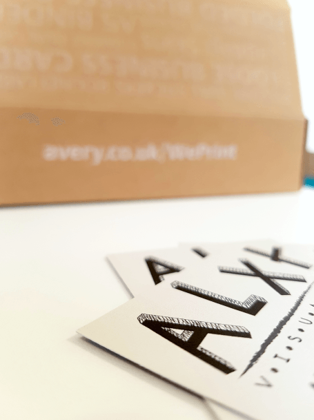 Business cards for startups client diaries avery weprint i am genuinely impressed with the quality of the print when you are trying to find work creating high quality imagery its extra important that the reheart Choice Image