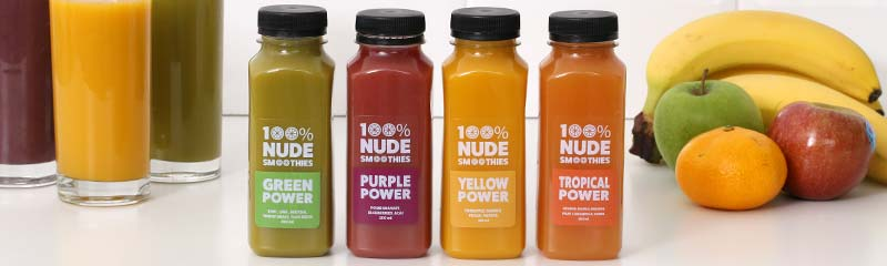 Smoothie clear labels